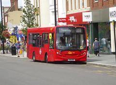 GAL 163 - YX61ENC - ELTHAM HIGH STREET - SAT 3RD AUG 2019 (Bexleybus) Tags: goahead go ahead london eltham se9 south east high street shopping centre adl dennis enviro 200 tfl route 233 163 yx61enc