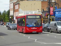 SLN 36540 - LX12DJD - ELTHAM HIGH STREET - SAT 3RD AUG 2019 (Bexleybus) Tags: stagecoach london selkent eltham se9 south east high street shopping centre adl dennis enviro 200 tfl route 124 36540 lx12djd