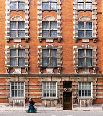 Symmetry (AndKa83) Tags: london architecture old england britain british city english building landmark street exterior historic house history uk capital victorian europe westminster brick historical outdoors red window style design housing historicalbuilding property apartment colours greatbritain beautiful detail millbankhouse editorial symmetry development officespace littlecollegestreet houseoflords gradeii nationalheritagelist woman