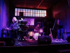 Thomas Dimuzio, Scott Amendola, and Phillip Greenlief 1 (michaelz1) Tags: livemusic ivyroom albany experimentalmusic improvisation
