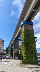 Tren elevado (Dawlad Ast) Tags: julio 2019 españa navia asturias spain puente bridge city ciudad