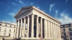 Maison Carrée (marc.barrot) Tags: france 30 architecture roman gard nîmes antiquity spqr maisoncarrée ancientrome placedelamaisoncarrée midi nemausus