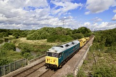50008 Beighton River Rother 09 Aug 19 (doughnut14) Tags: 50008 beighton rother oldroad midland doncaster longmarston cum rail freight diesel loco hansonandhall hoover 6x25 thunderer class50 stone blower