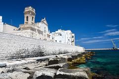 Chiesa di San Salvatore - Monopoli (Valdy71) Tags: monopoli puglia apulien italy italia travel church chiesa sea seascape seaside nikon valdy apulia
