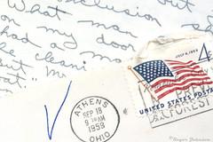History Preserved (Romair) Tags: macromondays printedword handwritten letter rogerjohnson