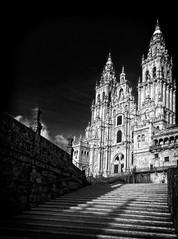 Fachada del Obradoiro de la catedral de Santiago de Compostela (Miguelanxo57) Tags: arquitectura fachada catedral barroco patrimoniodelahumanidad unesco compostela santiagodecompostela acoruña galicia