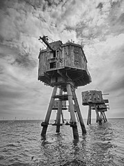 Red Sands Towers (JaneTurner68) Tags: redsandstowers towers maunsellforts forts thamesestuary secondworldwar ww2 defend unitedkingdom uk guymaunsell navalforts airraids canonsx70 canon