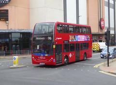 SLN 10205 - SL64HZE - BEXLEYHEATH BROADWAY - SUN 4TH AUG 2019 (Bexleybus) Tags: bexleyheath shopping centre da7 kent broadway cinema stagecoach london 10205 sl64hze adl dennis enviro 400 tfl route 96