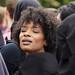 Sylvana Simons protesteert tegen het boerkaverbod