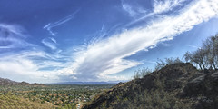 The Winds Aloft (lloydboy52) Tags: wind thewindsaloft winds aloft altitude cloud clouds thunderstorm storm anvil sky phoenix arizona downtown southmountain desert atmosphere atmospheric cumulonimbus weather landscape skyline sonorandesert panorama