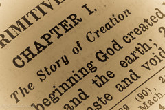 "CINDY JO CSOMO-5695  ~ ""#MACRO MONDAYS"" ~ and ""#PRINTED WORD"" ~ ""8/12/19"" ~ (Travlin/Cindy1) Tags: macro mondays macromondays printed word printedword bible genesis1 chapter1 inthebeginning antique godcreatedearth lettherebelight old"
