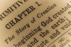 "CINDY JO CSOMO-5695  ~ ""#MACRO MONDAYS"" ~ and ""#PRINTED WORD"" ~ ""8/12/19"" ~ (Travlin/Cindy16) Tags: macro mondays macromondays printed word printedword bible genesis1 chapter1 inthebeginning antique godcreatedearth lettherebelight old"