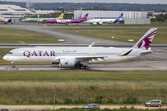 F-WWTW (A7-AMK) // QATAR Airways // A350-941 // Toulouse (SimonNicholls27) Tags: fwwtj a7amk qatarairways a350900 a350941 tls lfbo toulouse airbus