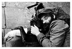"""""""Figures Libres à Barcelone 8"""" (TBWLC Photography) Tags: fdrouet nb bw monochrome monochrom street rue portrait retrato nikon d610 barcelone"""