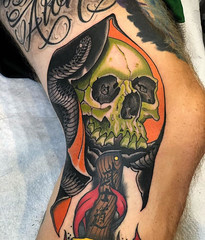 Ryan Thomas - Black 13 Tattoo