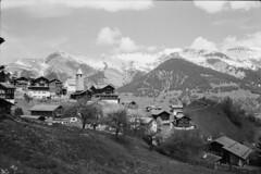 Tschiertschen (vladixp) Tags: ilford fp4 fp4plus fp480 d76 14min 20c 12 praktica mtl5 flektogon k2 pf7250u 3600dpi 35mm yellowfilter filmscan 35mmfilm film bw bwfilm filmphotography negative scanned graubünden grigioni grisons svizzera schweiz switzerland suisse tschiertschen