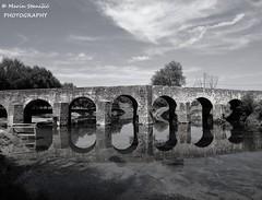 Novigrad na Dobri, Karlovac County, Croatia - Bridge over river Dobra (Marin Stanišić Photography) Tags: novigradnadobri croatia karlovaccounty river dobra bridge bw