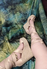 IMG_20190808_162206708~2 (eirenna_unveiled) Tags: foot feet toes legs sandals polishedtoes polishedtoenails