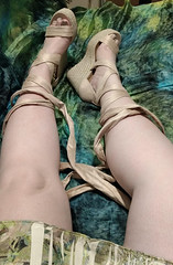 IMG_20190808_163659324~2 (eirenna_unveiled) Tags: foot feet toes legs sandals polishedtoes polishedtoenails