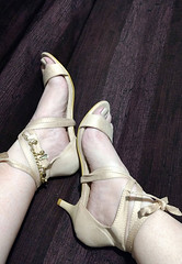 IMG_20190808_164510857~2 (eirenna_unveiled) Tags: foot feet toes legs sandals polishedtoes polishedtoenails