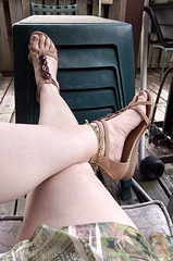 IMG_20190808_182423780_HDR~2 (eirenna_unveiled) Tags: foot feet toes legs sandals polishedtoes polishedtoenails