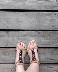 IMG_20190808_183140040~2 (eirenna_unveiled) Tags: foot feet toes legs sandals polishedtoes polishedtoenails