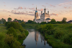In the morning (gubanov77) Tags: dawn river goldenhour church savinskoe russia usteriver village morning summer summertime