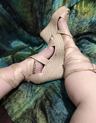 IMG_20190808_163015696~2 (eirenna_unveiled) Tags: foot feet toes legs sandals polishedtoes polishedtoenails