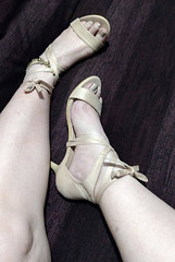 IMG_20190808_164531777~2 (eirenna_unveiled) Tags: foot feet toes legs sandals polishedtoes polishedtoenails