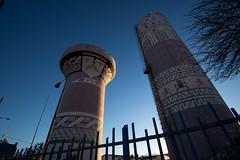 Water Tower decoration (MrBlackSun) Tags: ovalle limari province capital nikon d850 santiago de chile total solar eclipse 2019