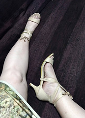 IMG_20190808_164725783~2 (eirenna_unveiled) Tags: foot feet toes legs sandals polishedtoes polishedtoenails