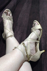 IMG_20190808_165630125~2 (eirenna_unveiled) Tags: foot feet toes legs sandals polishedtoes polishedtoenails