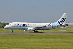 G-FBJF Embraer 170-200STD Flybe MAN 23-07-19 (PlanecrazyUK) Tags: egcc manchester ringway manchesterairport gfbjf embraer170200std flybe man 230719