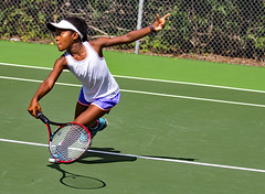 Lauren (Ellsasha) Tags: tennisplayer tennis houston cameroon youngster competitive match game court racket