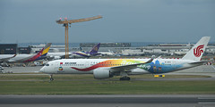 Air China B-1083 A350-900 (Ningaloo.) Tags: planespotting lhr heathrow airport northern runway renaissance hotel air china b1083 a350900 airbus
