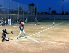 Last summer game of the season before the playoffs (shinnygogo) Tags: baseball nightgame game youth torrance carson summer 2019 tornadoes torrancell delamopark fun field sports recleague torrancetornadoes tll