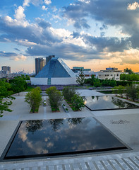 Aga Khan (Rainfire Photography) Tags: sunset agakhan scarborough toronto ontario museum architecture nikon d850 moon event