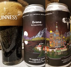 Evana (Pak T) Tags: evana greatergoodimperialbrewing worcester massachusetts stout beerporn alcohol beverage drink samsunggalaxys8 tmobile untappd beer can glass aluminumcan
