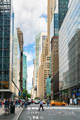 Street (Karlgoro1) Tags: sony alpha a7r ii mirrorless digital camera ilce7rm2 new york city street windows architecture building sky window lines road geometric manhattan pattern tower skyscraper overcast intersection tamron 2875mm f28 di iii rxd lens