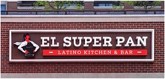 EL SUPER PAN | LATINO KITCHEN & BAR Sign | The Battery Atlanta (steveartist) Tags: signs brickwall building elsuperpan restaurantsigns typography thebattery atlantaga iphonese snapseed photostevefrenkel