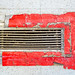 Vent with Red Tape