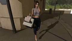 Shopping time (Bel Gables) Tags: evani catwa maitreya secondlife fri fd elikatira shopping lilac