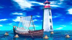 Get lost in the sea (Silvia Galtier) Tags: alananazareowyn hearthomes aphrodite noor jaradnoor silviagaltier sl secondlife summer decor bento blog beach atapuerca atapuercaii