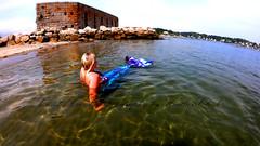 019en (ScarletPeaches) Tags: ashleye missm mermaid august 2019 fort popham beach state park phippsberg maine atlantic ocean merwoman mergirl
