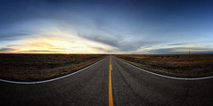 Route 66 Pano (crowt59) Tags: route 66 pano new mexico sunset clouds blue yellow crowt59 nikon d850 sigma 1224mm a ultra wide nikonflickraward