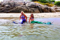 IMG_0614en (ScarletPeaches) Tags: ashleye missm mermaid august 2019 fort popham beach state park phippsberg maine atlantic ocean merwoman mergirl