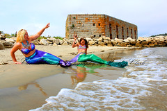 IMG_0604en (ScarletPeaches) Tags: ashleye missm mermaid august 2019 fort popham beach state park phippsberg maine atlantic ocean merwoman mergirl