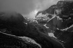 Alps (Toni_V) Tags: m2401412 rangefinder digitalrangefinder messsucher leica leicam mp typ240 type240 28mm elmaritm12828asph hiking wanderung randonnée escursione silvrettahütte graubünden grisons grischun silvrettagletscherlehrpfad fog nebel mist mountains alps alpen switzerland schweiz suisse svizzera svizra europe bw monochrome blackwhite ©toniv 2019 190803