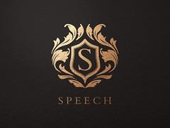 SPEECH logo mockup (prdAKU) Tags: second