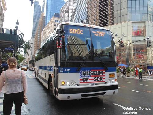 MTA New York City Bus Prevost X3-45 2518 - a photo on Flickriver